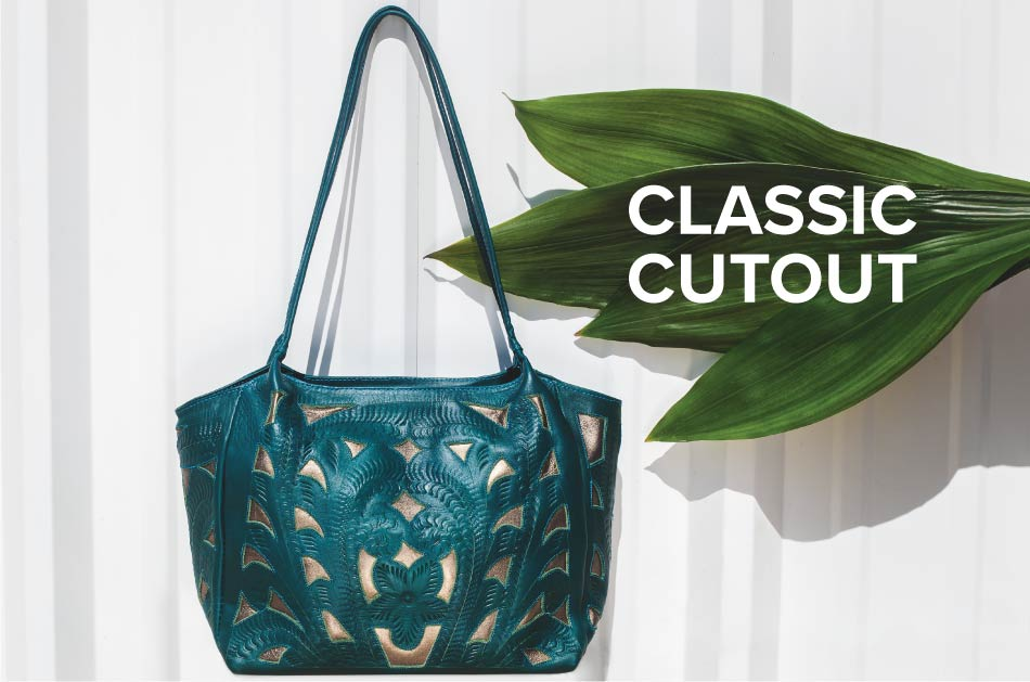 Classic Cut-out Leather Bags