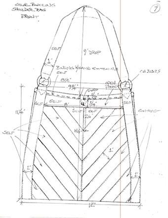 Shoulder Bag Sketch
