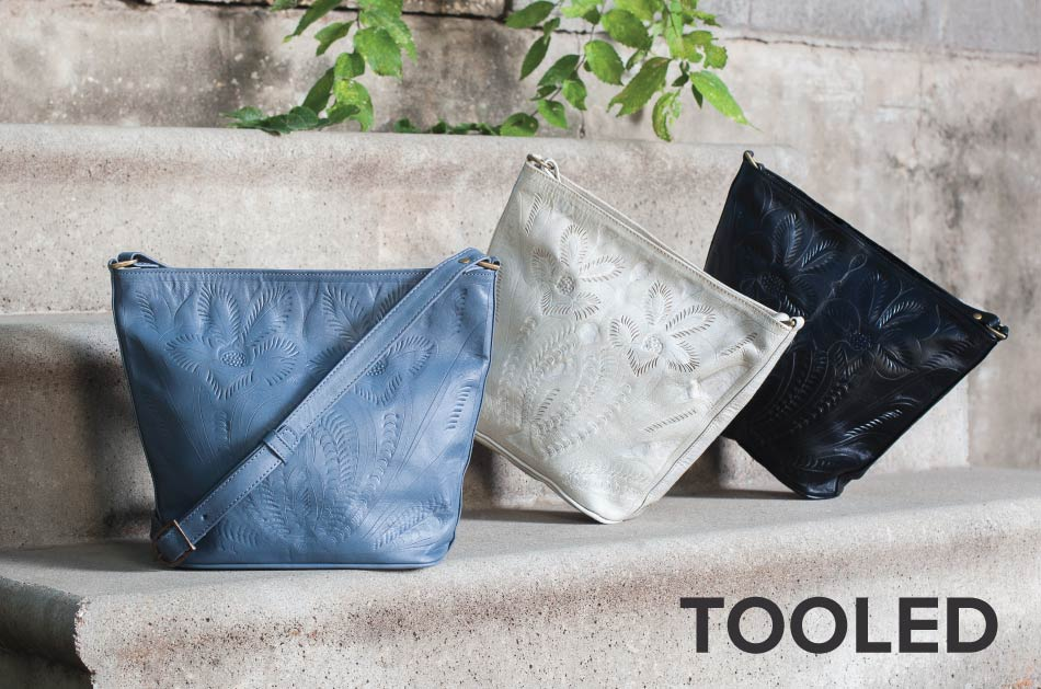 Tooled Leather Bags