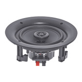 Round Ceiling Speakers with Offset Tweeters