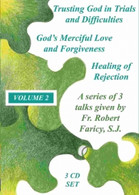 Fr Bob Faricy SJ - VOLUME 2 - 3 TALKS - 3 CD BOX SET- .