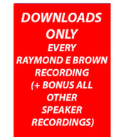 ALL RECORDINGS  MP3 DOWNLOADS ONLY