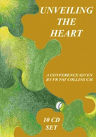 Unveiling the Heart - A Holy Week Retreat -Fr Pat Collins CM - 10 CD BOX SET .