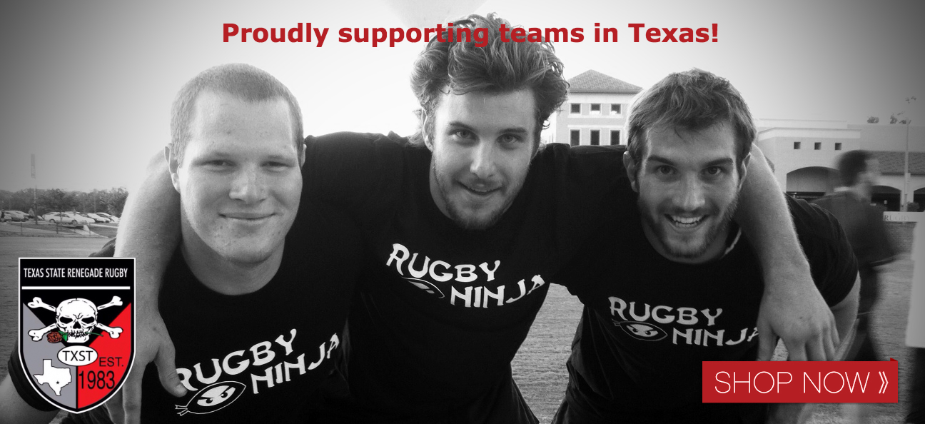 Rugby Ninja supports Texas State Rugby!
