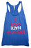 Royal Blue I Love Hate Burpees Tank top
