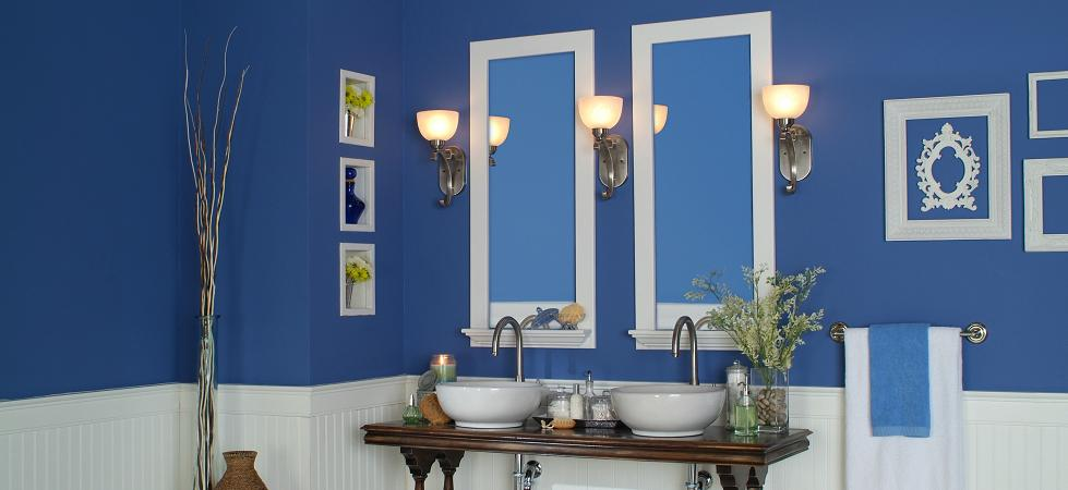 Mirror Frames with built-in shelves