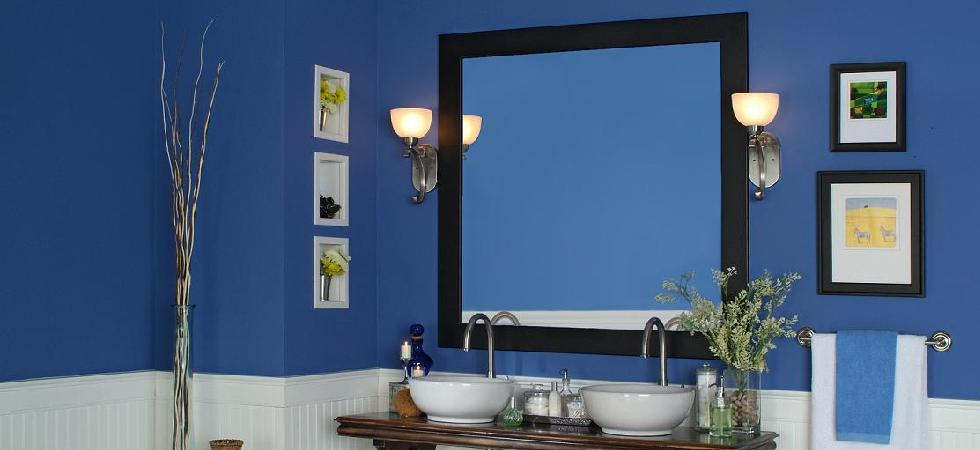 The Belmont Mirror Frame featuring clean lines