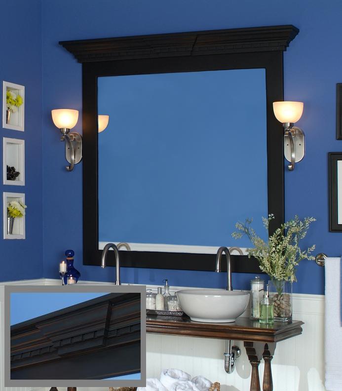 100 frame a bathroom mirror with molding bathroom bathroom