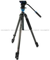 Benro百諾C2573FS4碳纖維攝錄腳架連雲台套裝