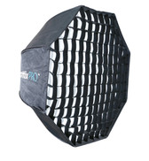 Phottix Pro Easy Up HD Umbrella Octa Softbox with Grid 傘型八角柔光箱連網格 80cm