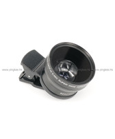 Pickogen GKD-W3745 37mm 0.45X 超廣角加微距智能電話鏡頭夾