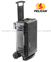 "Pelican 1510M Mobility Case 4""重型滑輪器材安全箱 黑色"
