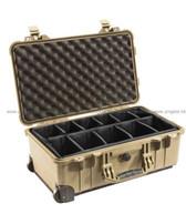 Pelican 1514 Carry On Case Desert Tan 砂漠色 軟墊間隔 攝影器材安全箱