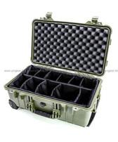 Pelican 1514 Carry On Case OD Green 軍綠色 軟墊間隔 攝影器材安全箱