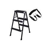 Velbon金鐘 Aluminum Ladder 多用途鋁合金攝影梯 黑色 75cm