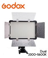 Godox 神牛 LED308C II 雙色攝錄補光燈連擋光板