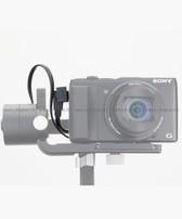 智雲 Zhiyun 雲鶴Crane M 穩定器與Sony相機連接線