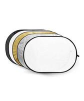 五合一橢圓反光板 5-in-1 Oval Reflector Disc 120x180cm