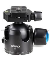 Benro百諾G3恆定阻尼球形雲台連PU70快裝板