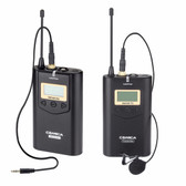 Comica CVM-WM100 UHF 48-Channels Wireless Microphone Lavalier Microphone 無線收音咪