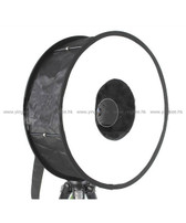 力飛 46cm 環形閃光燈可折疊柔光罩