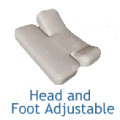 Split-Top Sheet Sets - Split Head and Foot Design