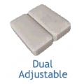 "Mattress Pads - Dual ""Split"" Bottom Design"