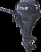 Tohatsu 15hp four stroke - Elec start, R/C MFS15D EP