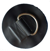 Hypalon D-ring Patch 120mm Diameter With 50mm D-ring