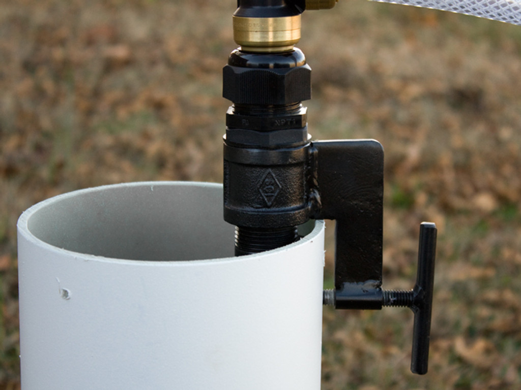 Casing-Clamp with EarthStraw Gripper