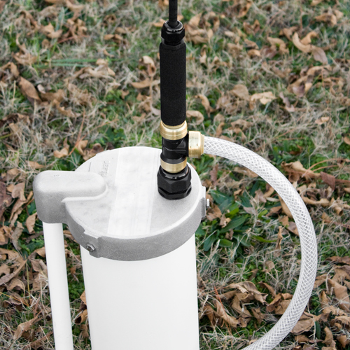 8 Inch Well Cap with EarthStraw Gripper