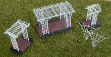 HO-SCALE PERGOLA SET