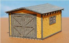 HO-SCALE SPEEDER SHED
