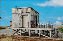 HO-SCALE MILK STATION