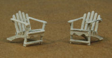 HO-SCALE ADIRONDACK CHAIRS