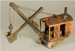 HO-SCALE 'JORDAN #303' ERIE B-2 STEAM SHOVEL DETAIL KIT'