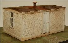 HO-SCALE BUNK HOUSE