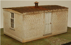 HO-SCALE BUNK HOUSE