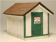 HO-SCALE GAS HOUSE