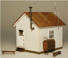 HO-SCALE WEST END SHACK