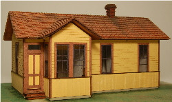 HO-SCALE TELEGRAPH STATION