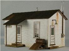 HO-SCALE TEAM YARD OFFICE