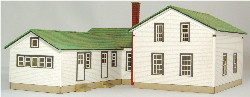 HO-SCALE ELFERING FARM HOUSE