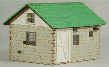 HO-SCALE MILK HOUSE