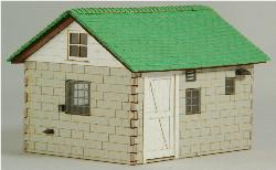 HO-SCALE MILK HOUSE