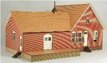 HO-SCALE RIDGEWAY OFFICE BUILDING