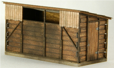 HO-SCALE COAL BUNKER - WOOD