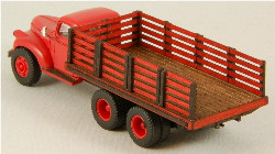 HO-SCALE TRUCK BED - STAKE