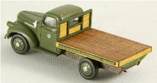 HO-SCALE TRUCK BED - FLAT