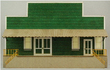 HO-SCALE PRODUCE PACKING FLAT-D